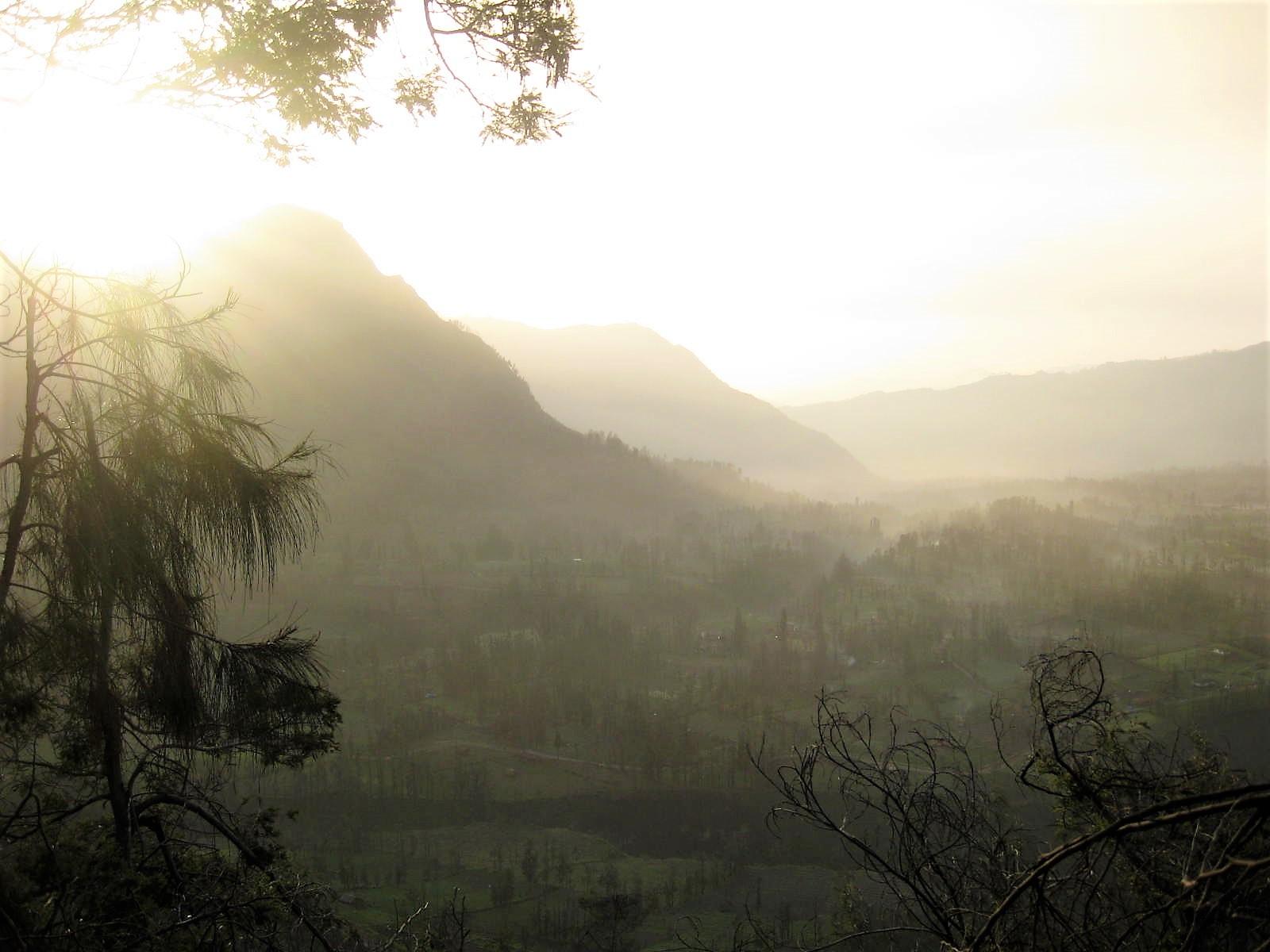 mount bromo eruption java indonesia
