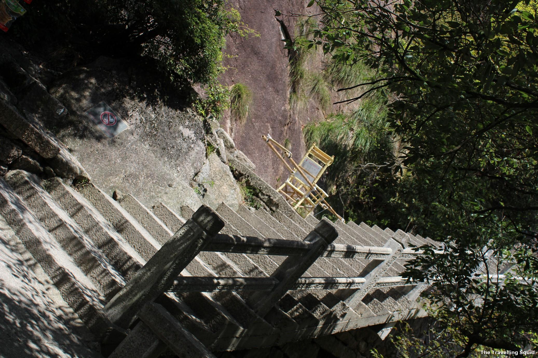 huangshan western steps