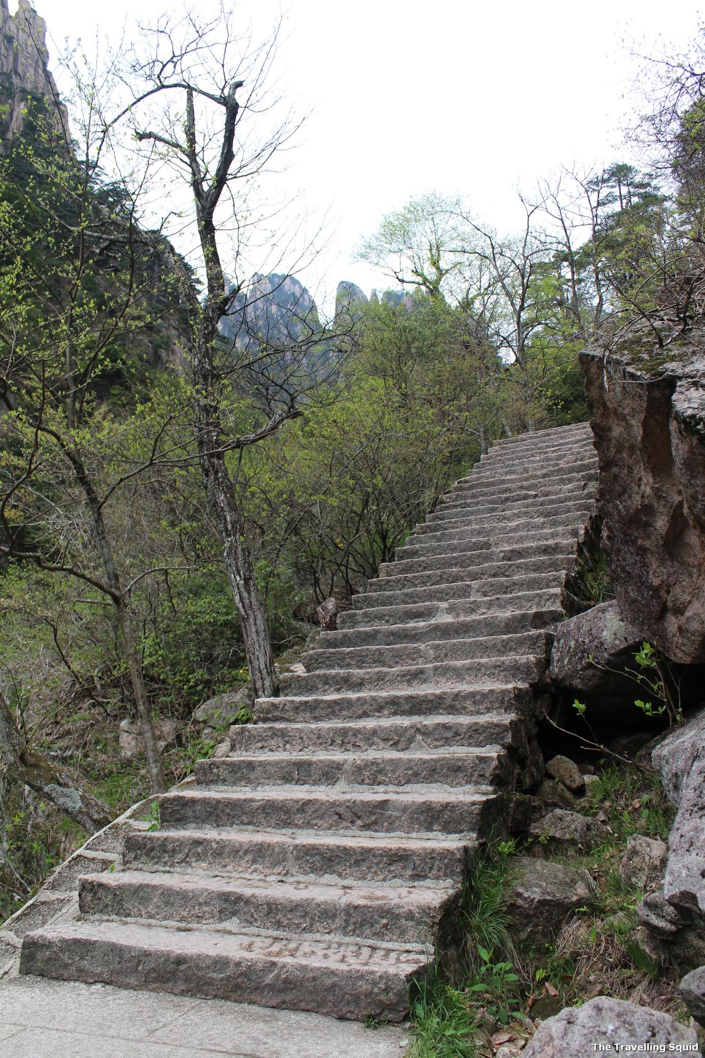 huangshan eastern steps