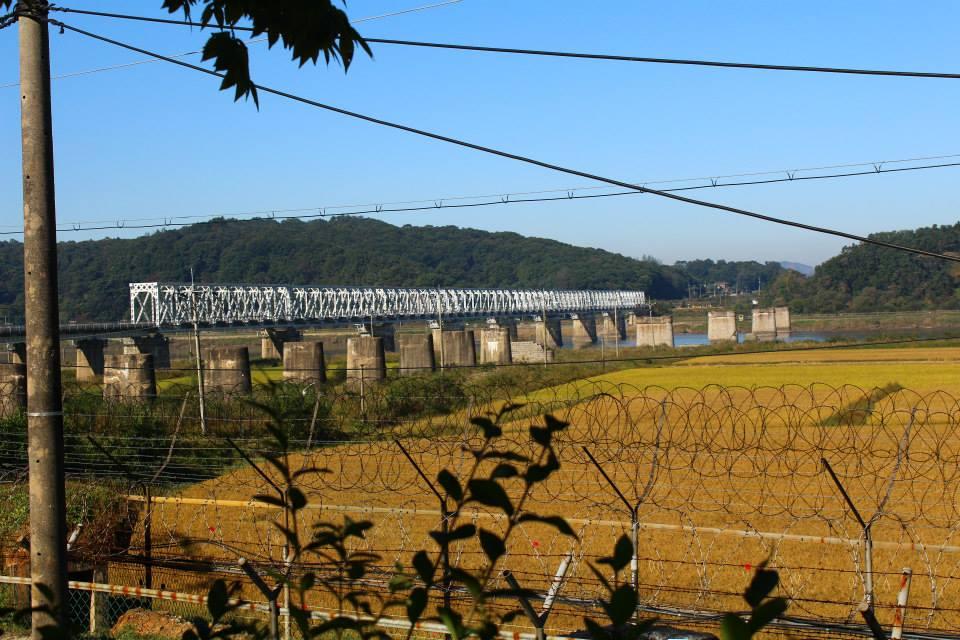 Bridge of freedom from imjingak