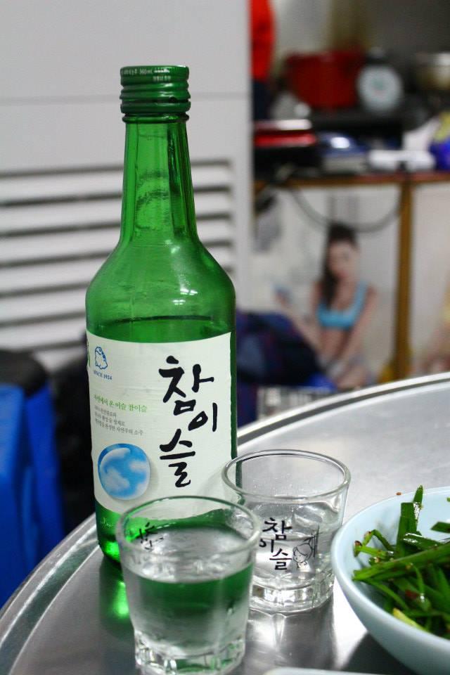 Chamisul soju korea alcohol