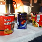 Humble eating on the Trans Siberian