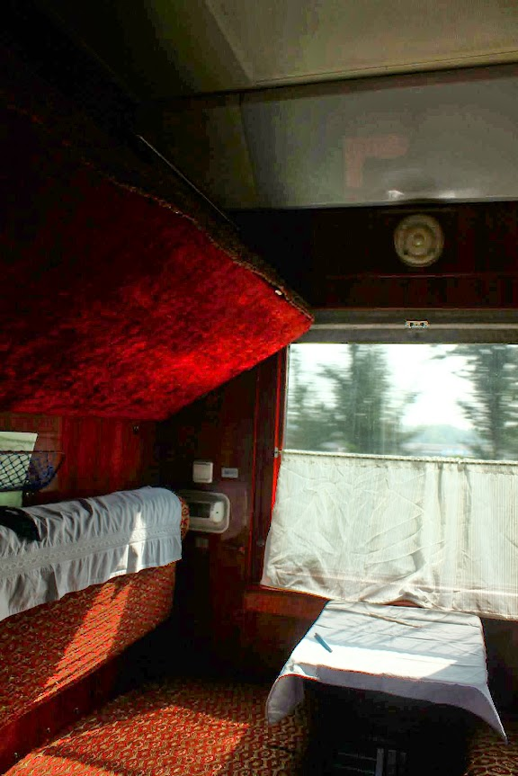 trans siberian first class plush seats