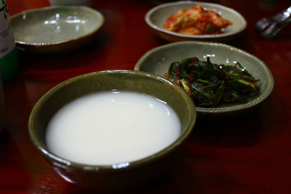 Makgeolli korea alcoholic drink