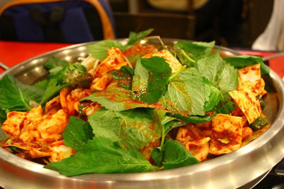 eating army stew seoul