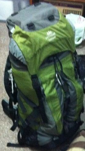 40litre backpack