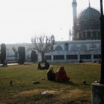 A Kashmiri Photo Story (2): Hazratbal Shrine in Srinagar