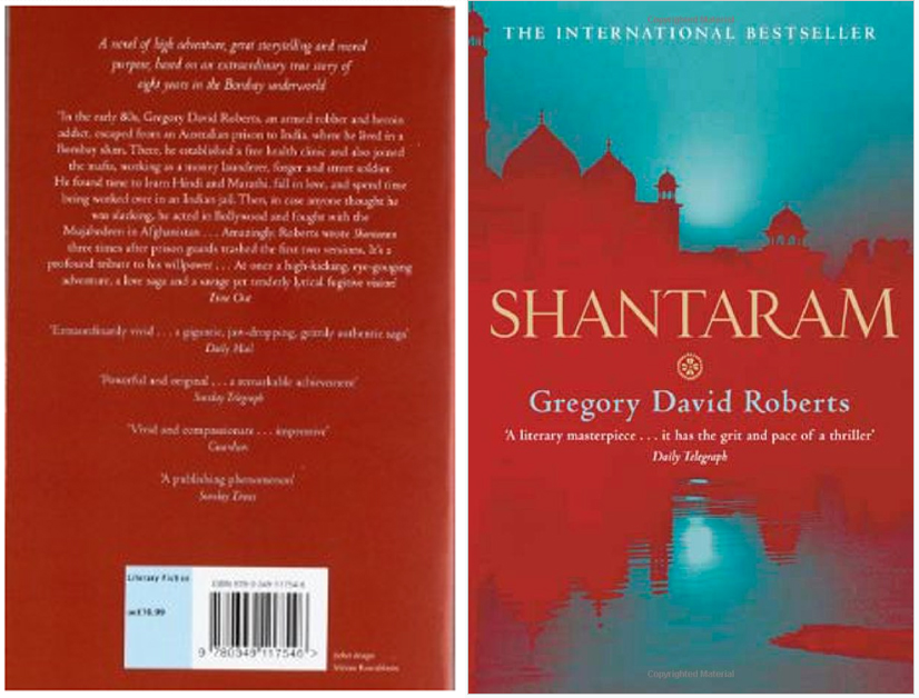 Shantaram book cover