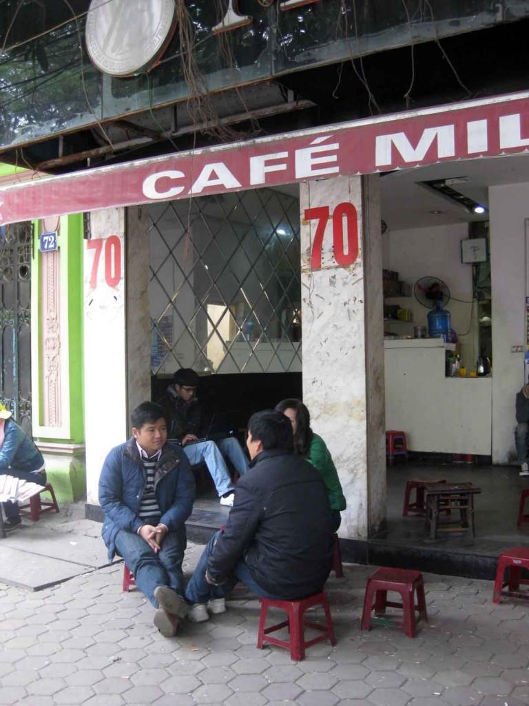 vietnamese coffee cafe hanoi