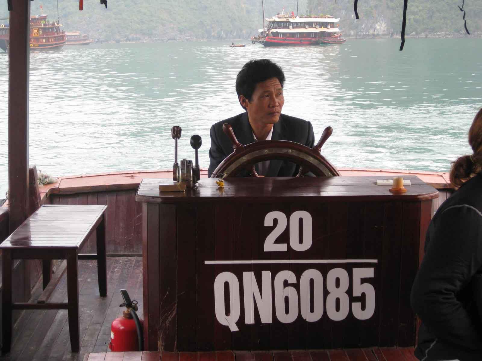 halong bay captain junk