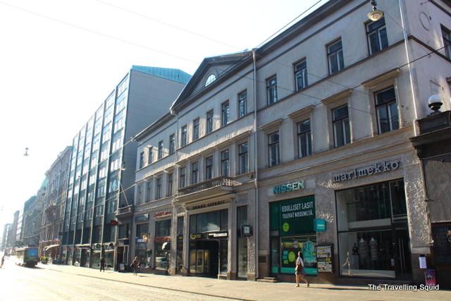 helsinki shopping street