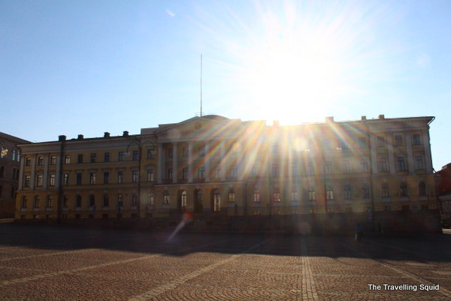 helsinki senate square government palace
