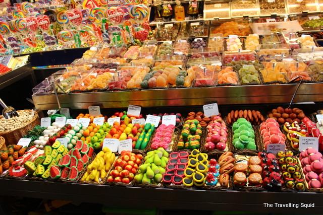 la boqueri barcelona candy
