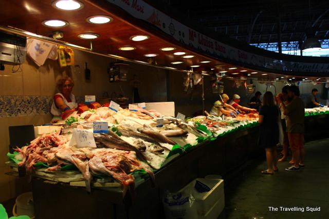 la boqueri barcelona seafood
