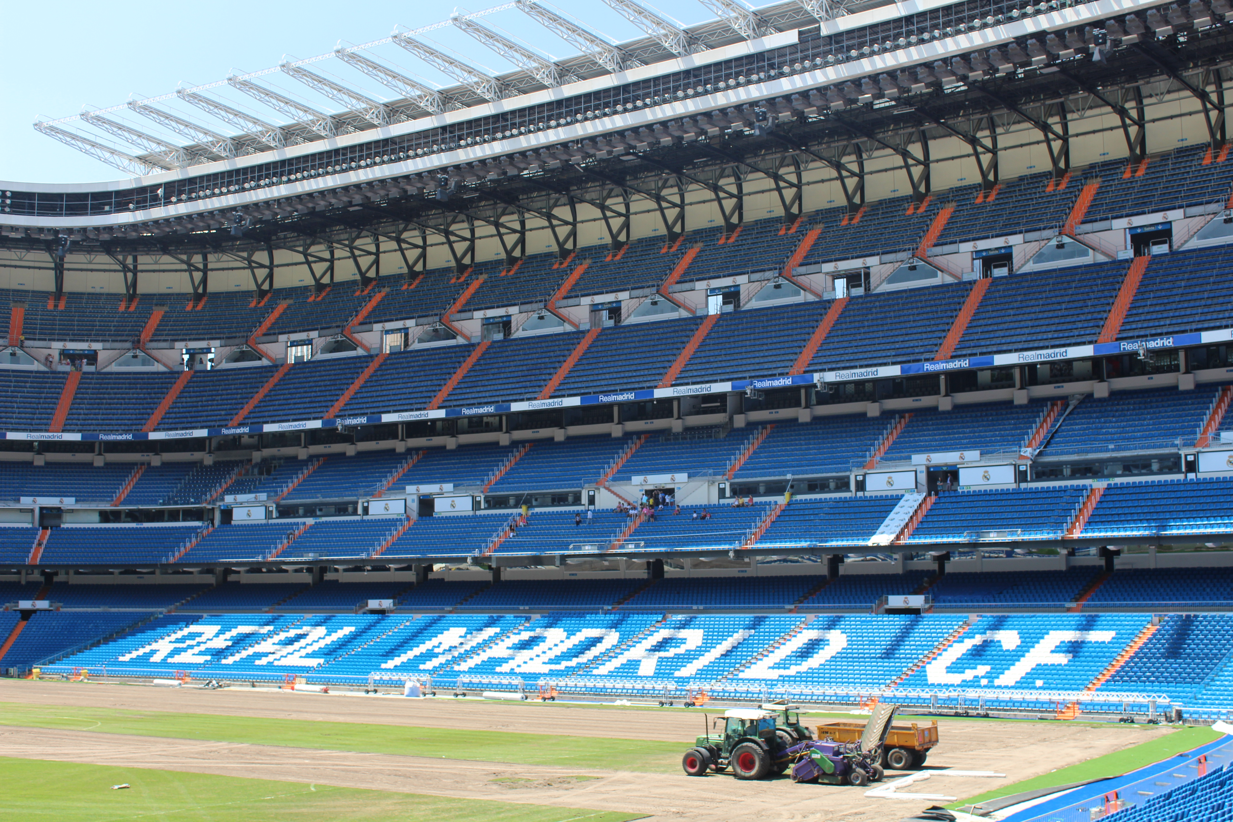 real madrid stadium bernabeu