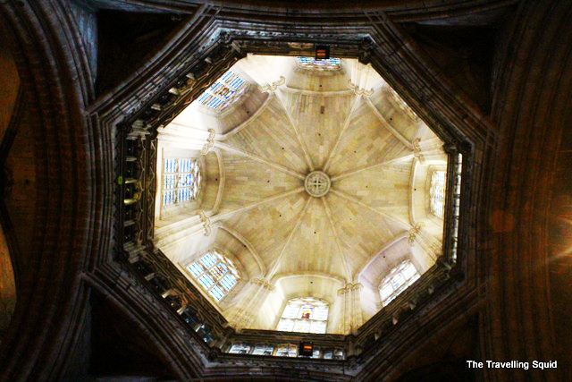 Barcelona Cathedral dome