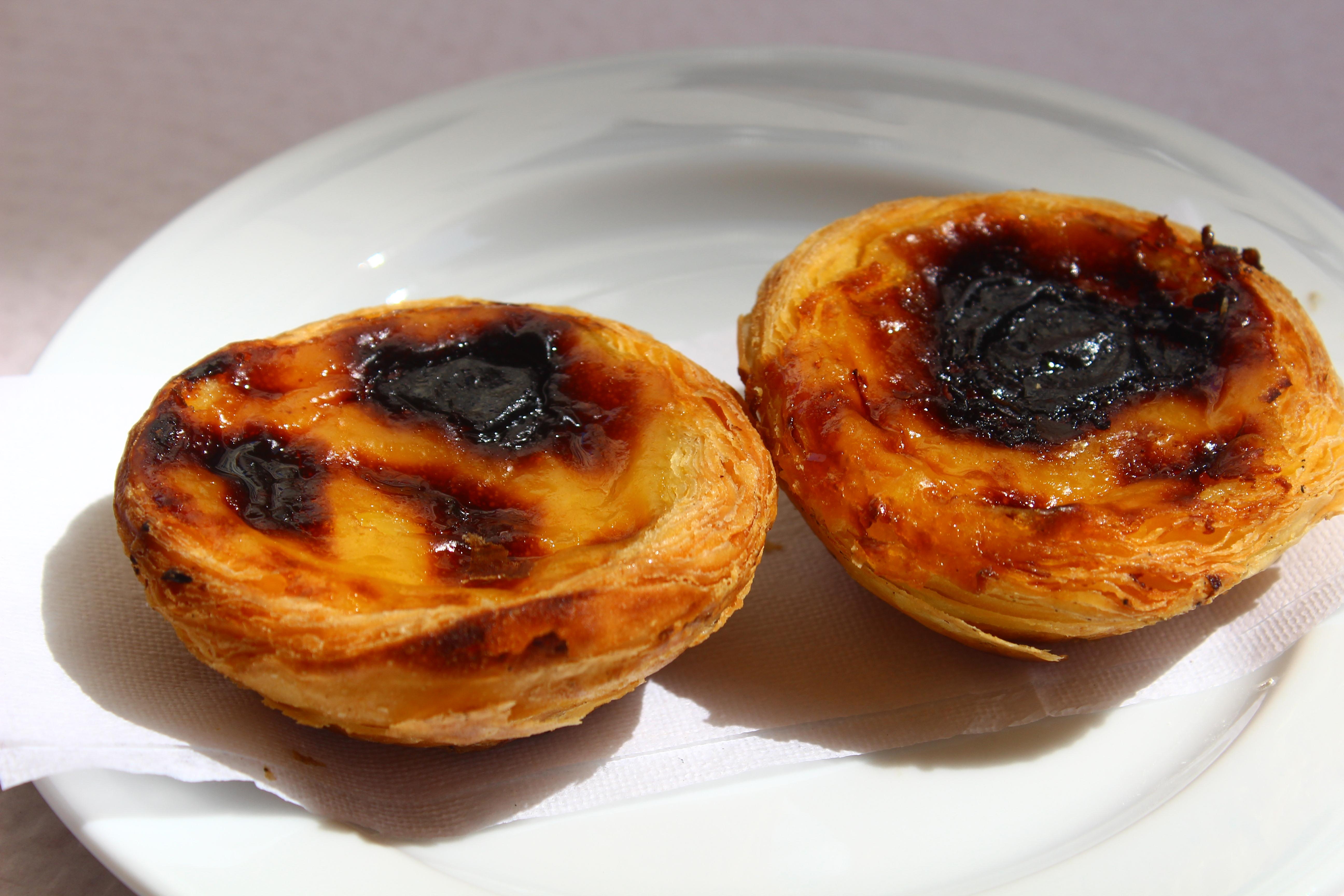 Portugese egg tarts nicola cafes lisbon