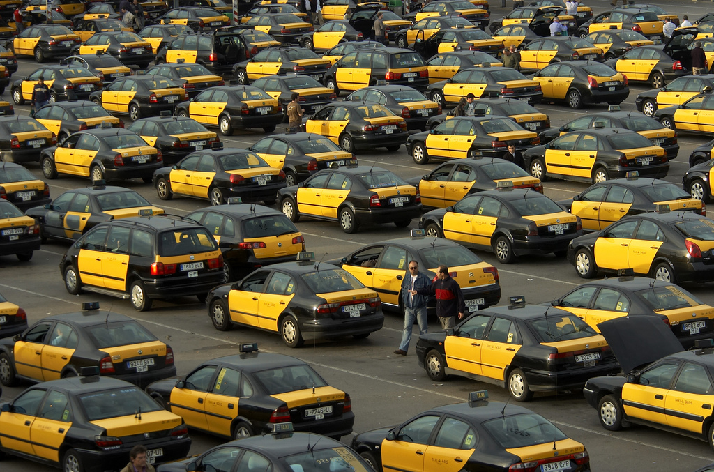 taxis-in-barcelona