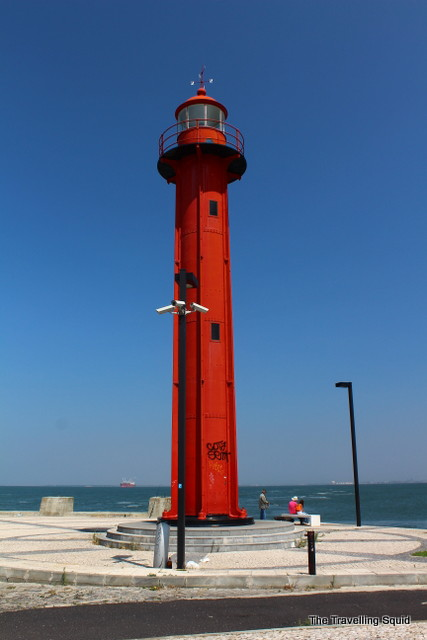 lighthouse Cacilhas lisbon cristo rei