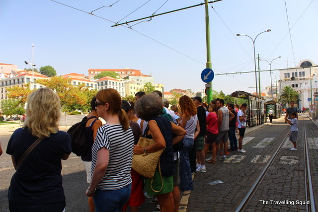 tram 28 lisbon route long wait
