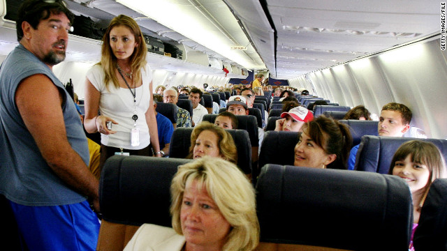 airplane seats swap