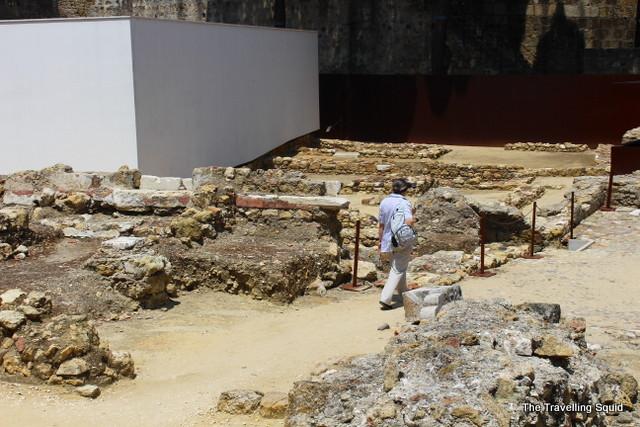 castelo sao jorge excavations