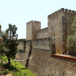 Five main sights of Castelo Sao Jorge in Lisbon Portugal