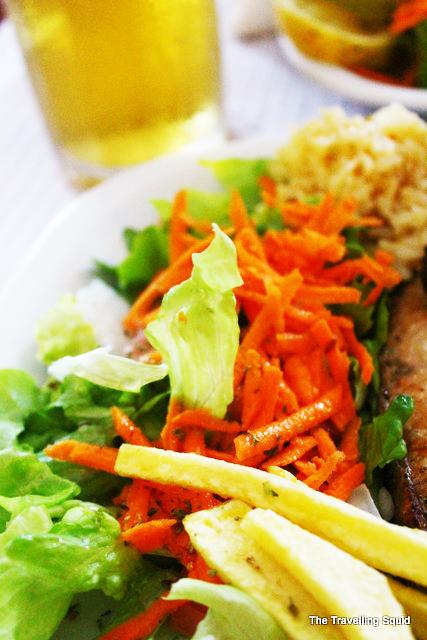 El Rei D'frango lisbon salad