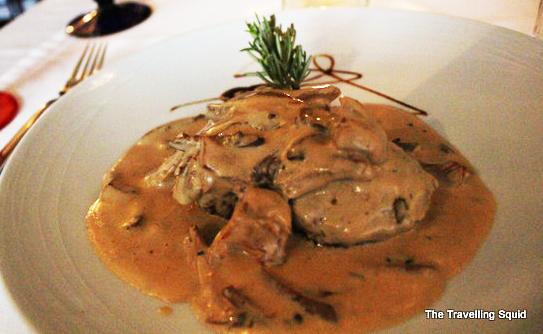 mushroom steak restaurante Frade dos Mares lisbon