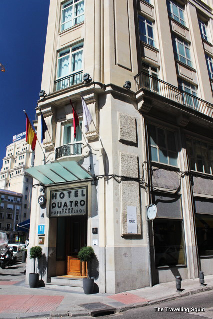 Review hotel quatro puerta del sol in madrid the for Hotel puerta de sol