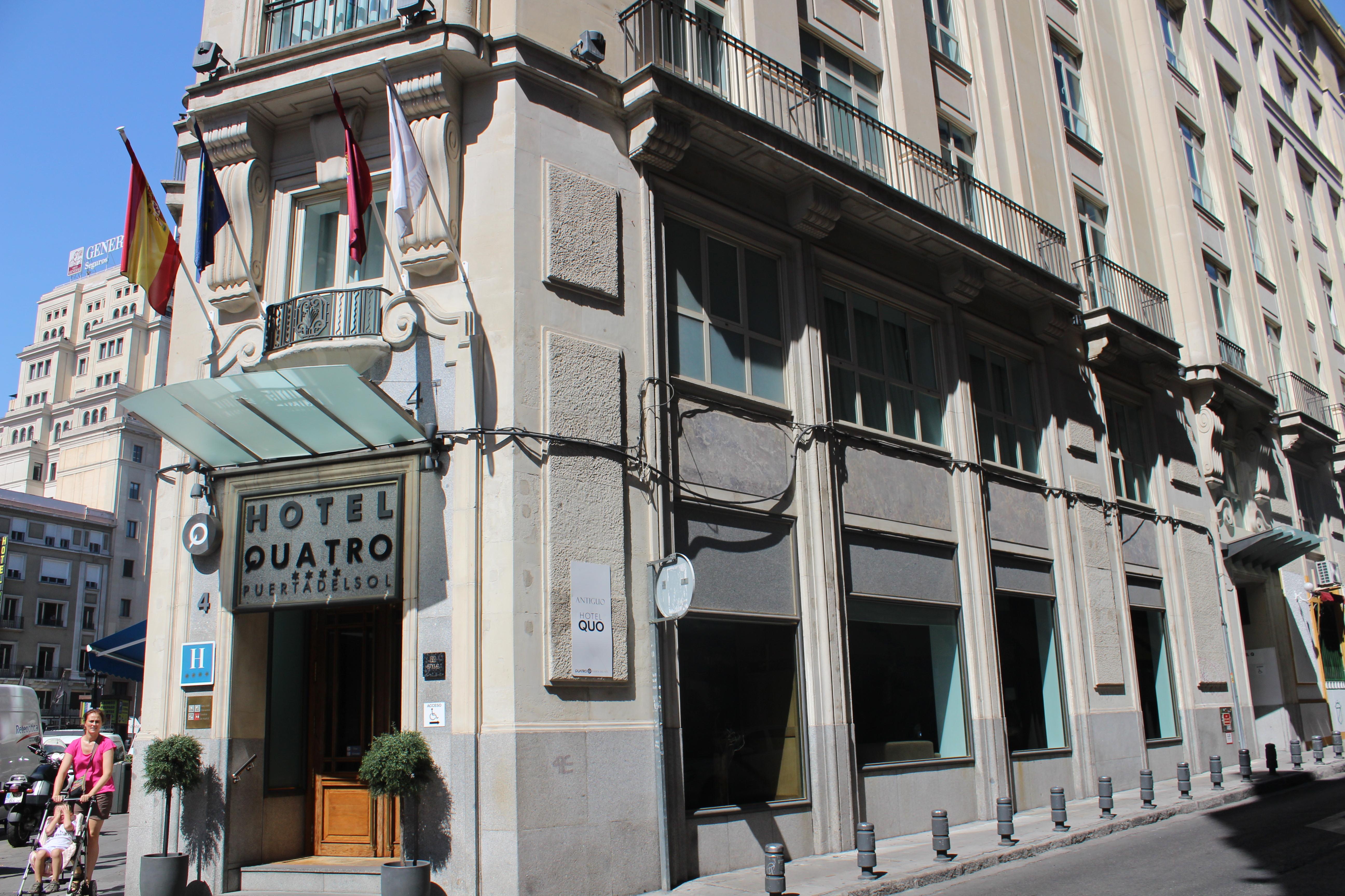 Review hotel quatro puerta del sol in madrid the travelling squid - Pension puerta del sol ...
