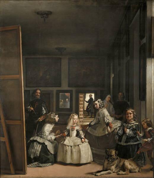 What Room Was Las Meninas Painted In