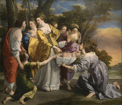 The Finding of Moses prado museum