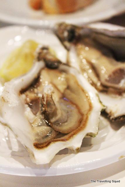 Mercado San Miguel oysters