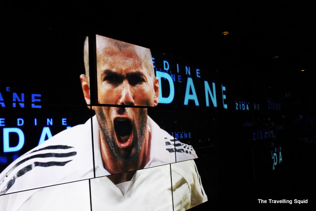 real madrid bernabeu tour zidane