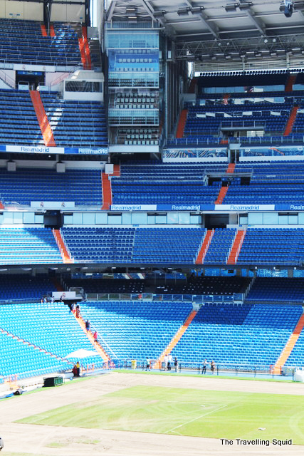 real madrid bernabeu tour seating