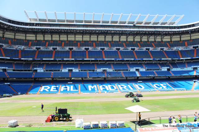 real madrid bernabeu tour stadium