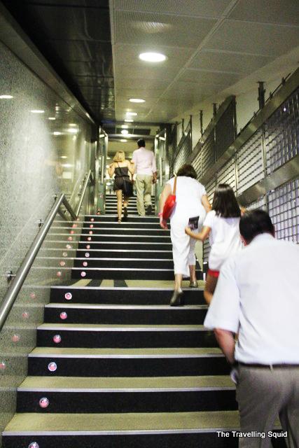 santiago bernabeu tour tunnel