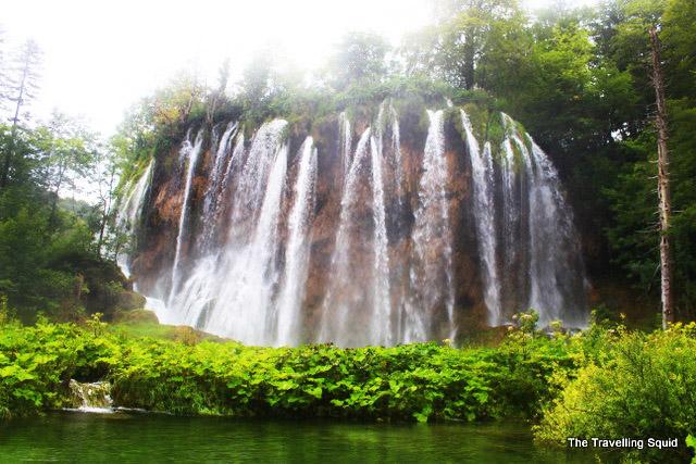plitvice lakes mali prstavac waterfall