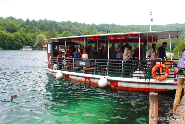 plitvice lakes ferry