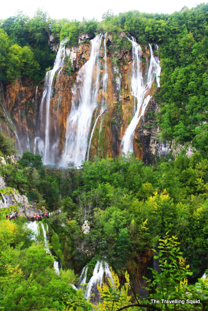highest waterfall plitvice lakes Veliki slap