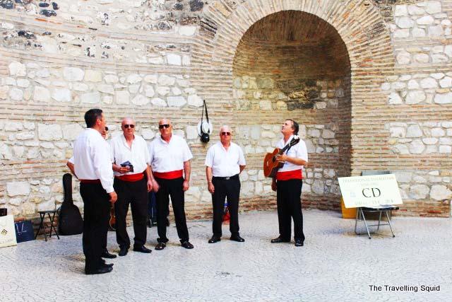 diocletians palace split acapella