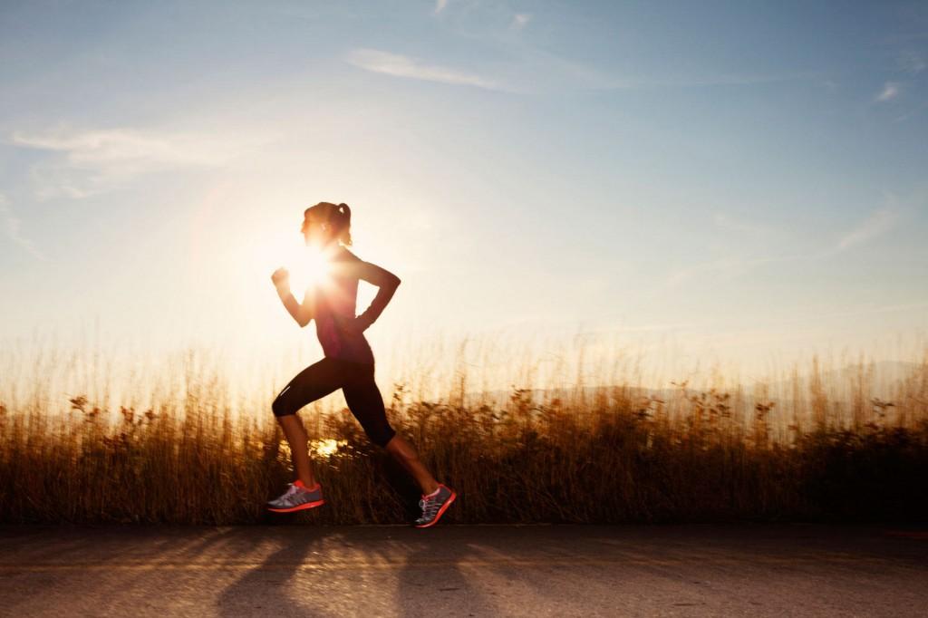 running exercise jetlag