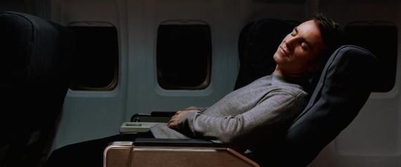 sleeping on the plane jet lag