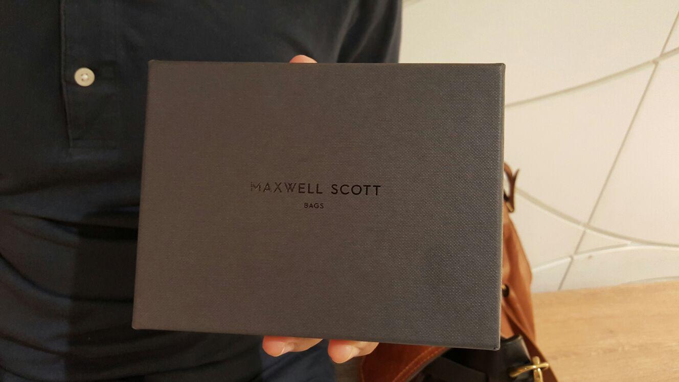 maxwell scott bag wallet