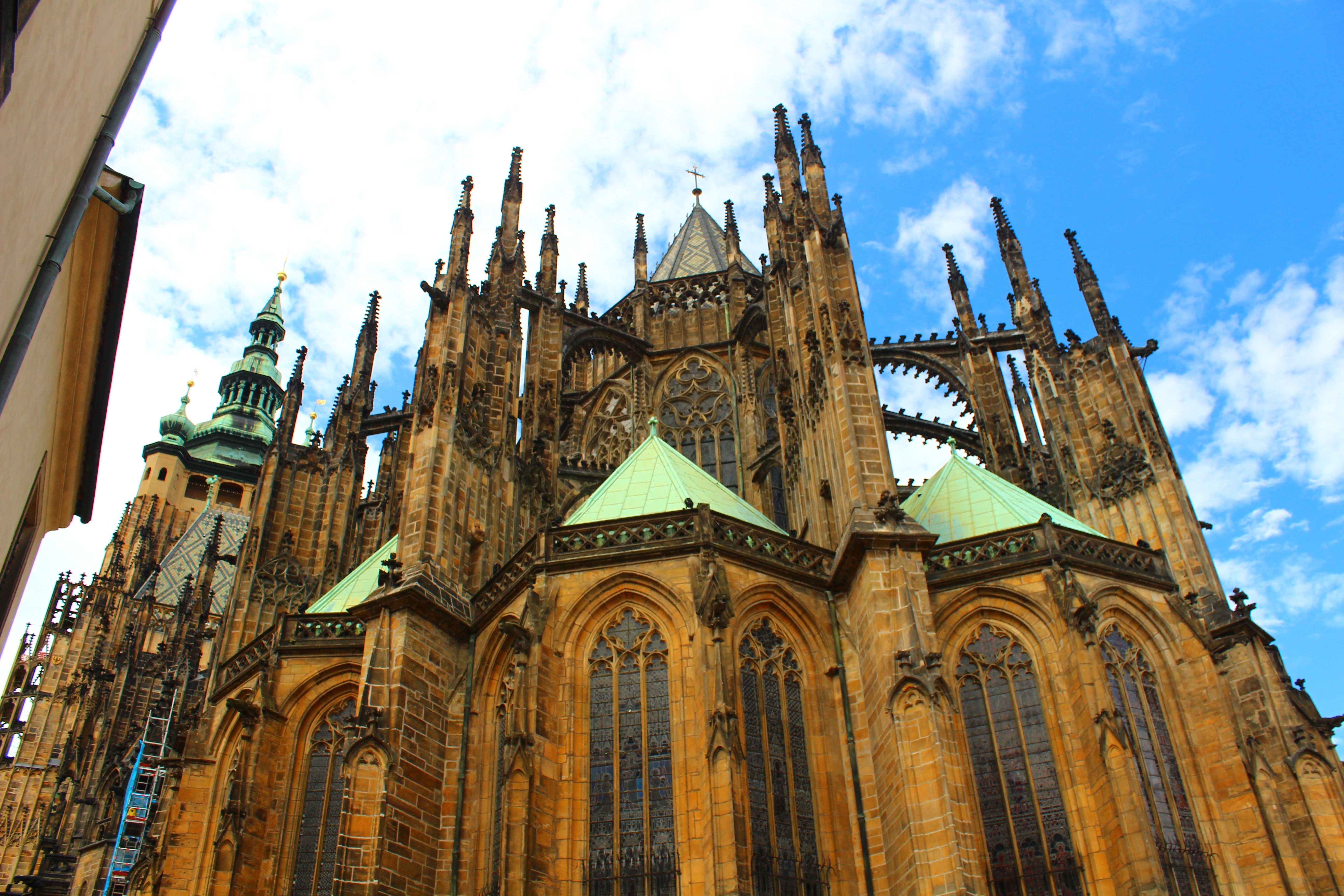 st vitus cathedral prague castle