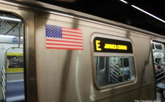new york subway express train