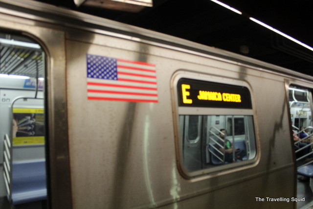 new york subway express train