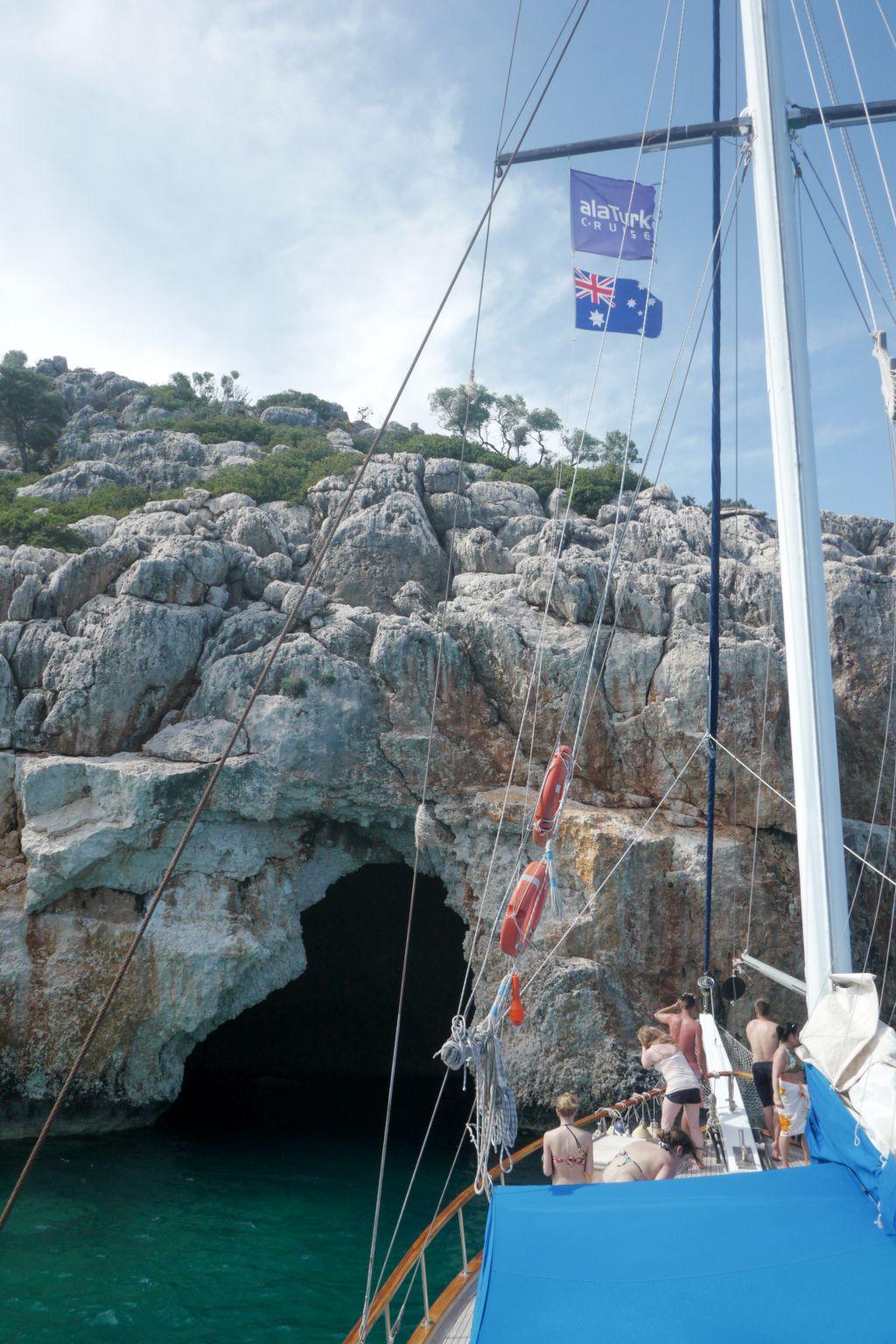 Blue Cave Kekova
