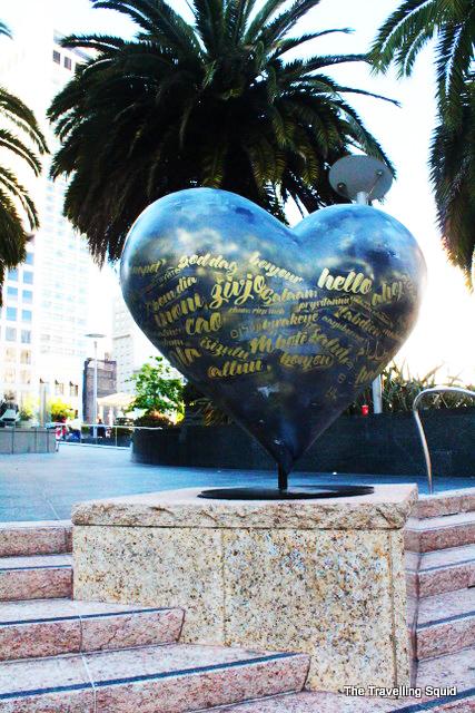 union square san francisco heart